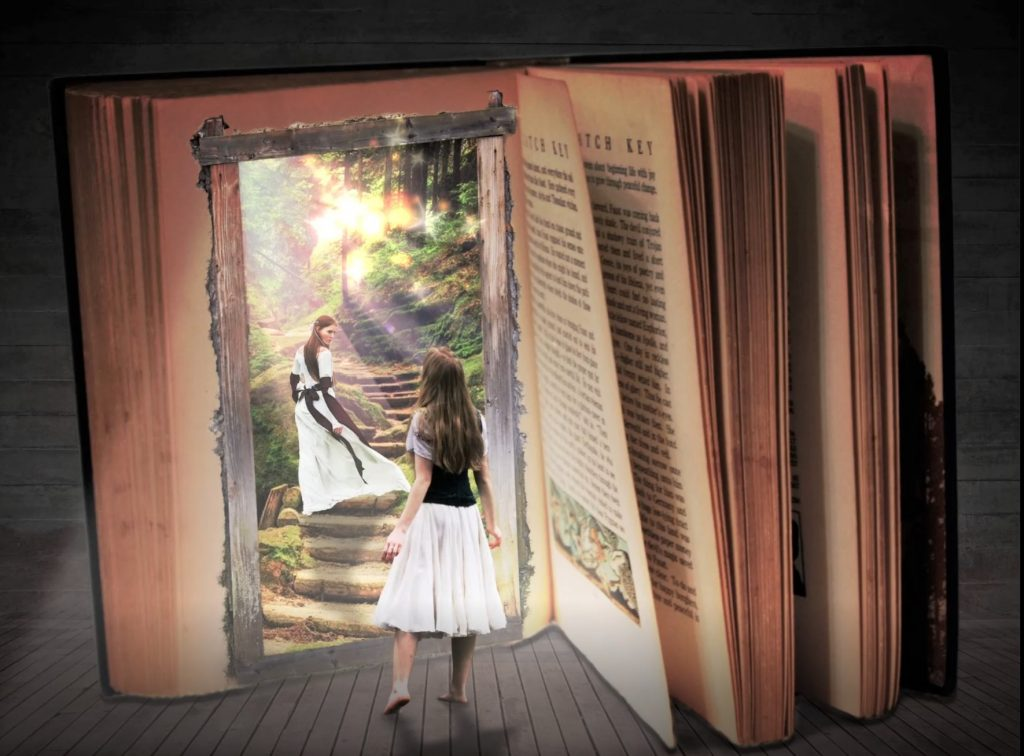 In die Welt der Geschichten eintauchen